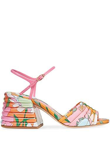 FENDI Luxury Fashion Damen 8X7067ABNFF1ATF Multicolour Polyurethan Sandalen | Frühling Sommer 20