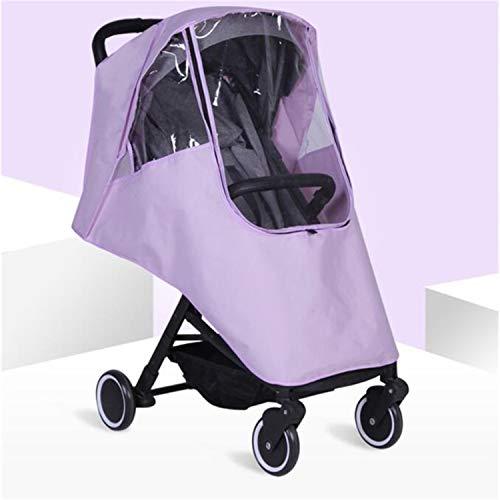 BABIFIS Accessoires de Poussette de bébé Universal imperméable Protection Contre la Pluie Wind Dust Shield pour poussettes poussettes Buggy Cover A