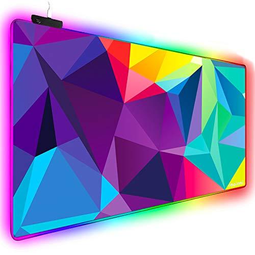 Extended RGB Mouse Pad Mat, rnairni Larg...