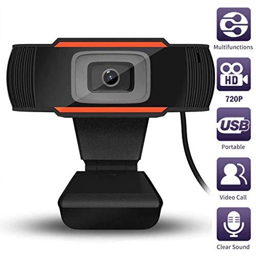 720P HD Webcam, Digitale Video Live Streaming Webcamera, Ingebouwde Dubbele Microfoon USB-Computercamera, Ruisonderdrukking Webcam Voor Xbox Youtube Skype