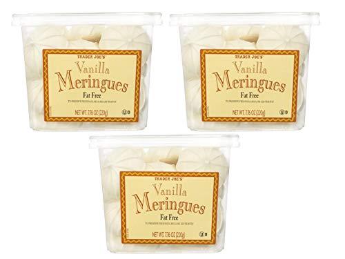 Trader Joe's Fat/Gluten Free Vanilla Meringues - 3 Pack (7.76 oz. ea.)