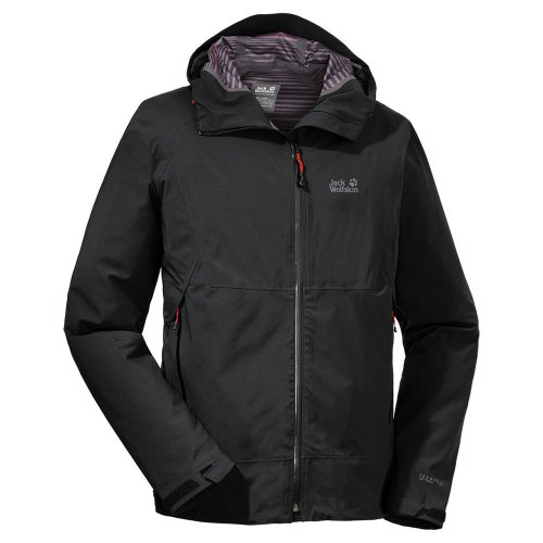 Jack Wolfskin Coulomb Jacket Men Black