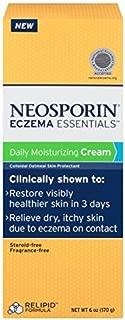 Neosporin Eczema Essentials Daily Moisturizing Cream, 6 Oz - Buy Packs and SAVE (Pack of 4)