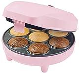 Bestron ACC217P Macchina per Cupcake, 700 W, Plastica, Rosa