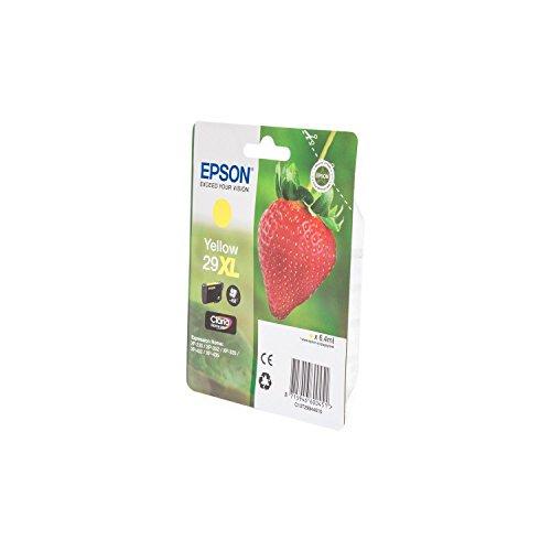 Epson C13T29944010/29XL - Cartucho de tinta para impresora Expression Home XP-445 Premium, color amarillo, 6,4 ml