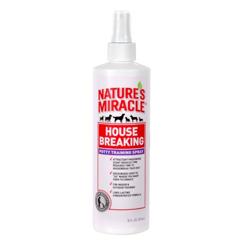 Nature's Miracle Housebreaking Spray, 16-Ounce (P5766)