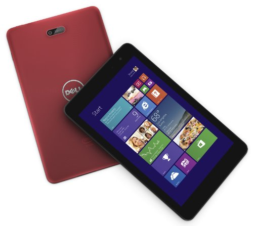 Dell Venue 8 Pro 64G WiFi Office H&Bモデル レッド(Atom Z3740D/2GB/64GB/8インチWXGA/Office H&B 2013/Windows8.1 32Bit) Venue 8 Pro 13Q42