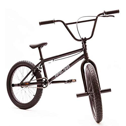 MIAOYO Bici BMX di Grado Professionale da 20 Pollici, Struttura in Acciaio al Carbonio Ad Alta Resistenza BMX Bici da Gara BMX, A Livello di Principiante Ai Ciclisti Avanzati Uomini Donne Generale