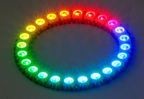 DIGI-DOT Ring mit 24 x WS2812B-LEDs