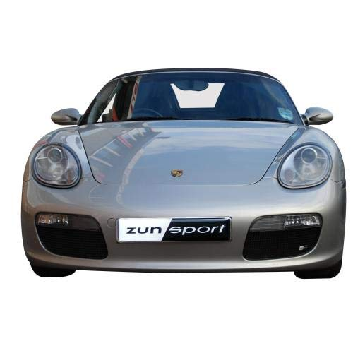 Zunsport Compatible with Porsche Boxster 987.1 - Outer Grill Set - Black Finish (2005-2008)