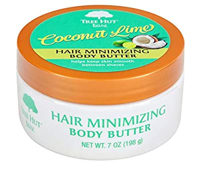 Tree Hut bare Hair Minimizing Body Butter, 7oz, Essentials for Soft, Smooth, Bare Skin