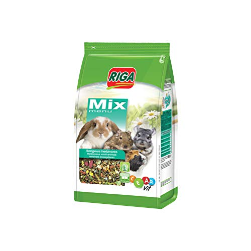 Riga Multi Vitaminé Menu Mix pour Herbivores 3 Kg