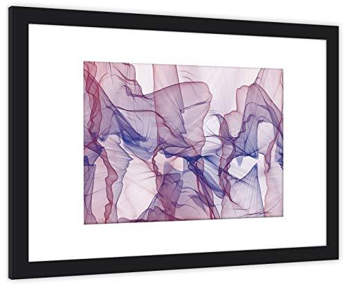 GaviaStore Art Prints - con Marco 70x50 cm - Cuadros Impresiones Pintura Cartel Foto Mueble Art hogar impresión decoración casa Sala Poster Cuadro Imagen Enmarcado Wall Art Picture (Abstracto)