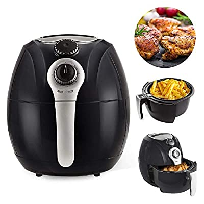 Simple Chef Air Fryer - Air Fryer For Healthy Oil Free Cooking - 3.5 Liter Capacity w/Dishwasher Safe Parts