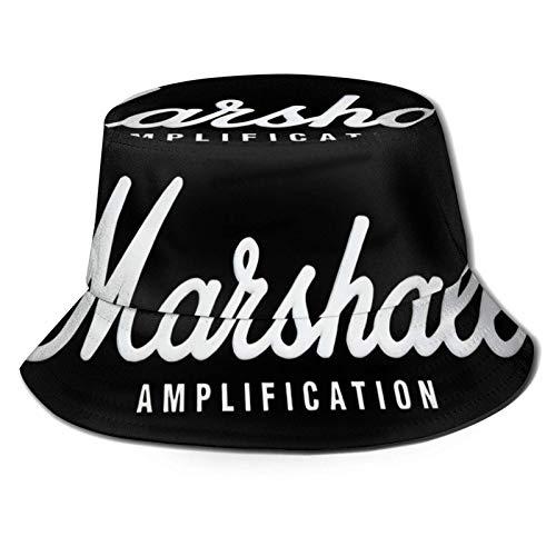 DDONEA Marshall Amplificación Sombrero de Pescador Plegable Unisex Sombrero de Cubo Sombrero...