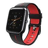 Vigorun Smartwatch GPS Fitness Armband Fitness Tracker mit Herzfrequenz Schrittzähler Schlafmonitor 5ATM Wasserdicht Fitnessuhr 1,3 Zoll Touch-Farbdisplay Sportuhr Smart Watch für Damen Herren