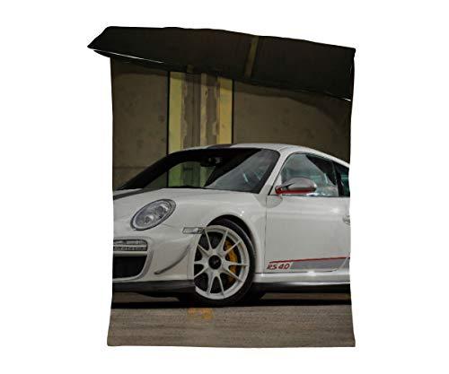 fotobar!style Bettbezug 135 x 200 cm EIN Motiv aus dem Kalender Porsche GT3RS 4,0