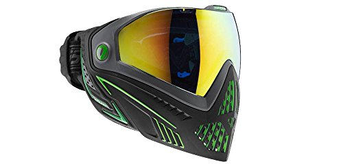 Dye i5 Paintball Maske, Mehrfarbig (Black/Lime), One Size