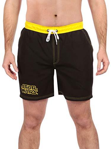 Star Wars Herren Badeshorts Schwarz Large