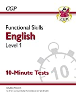 New Functional Skills English Level 1 - 10 Minute Tests (for 2020 & beyond)