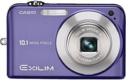 Casio Exilim Ex Z1080 Digitalkamera 2 6 Zoll Blau Kamera