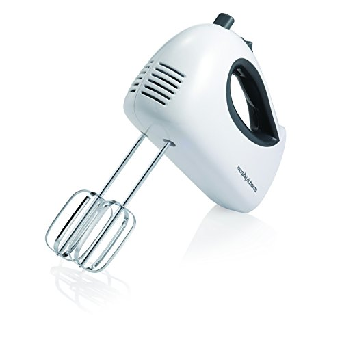 Morphy Richards 400510 Hand Mixer, White, Small