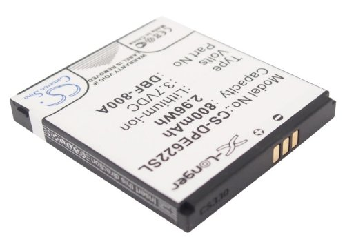 Replacement Battery 800mAh/2.96Wh Rechargeable Battery for Doro PhoneEasy 626