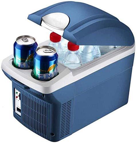 Refrigerador del coche, un viaje de camping portátil Frigorífico 8L litros refrigerador de calefacción eléctrica de múltiples funciones Nevera Mini refrigerador del refrigerador 1yess