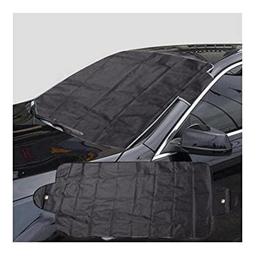 TangMengYun Parasol de Parabrisas Delantero Anti Snow Plata Recubrimiento Protector Auto Sun Sun Shade Cover Windshield Car Front Window Sun Luz UV Reflexión Protege Sombrillas Sombrilla