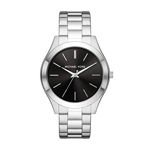 Michael Kors Men's Slim Runway Three-Hand Stainless Steel Watch MK8836