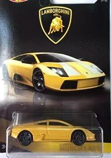 Hot Wheels 2017 Lamborghini Series Replacement for Lamborghini Murcielago 5/8, Yellow