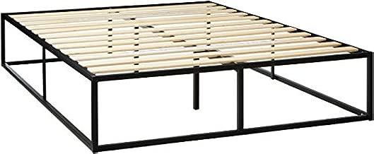 Zinus Joseph Metal Platforma Bed Frame, 14-Inches - Queen