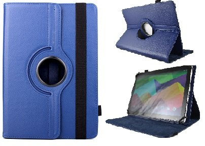 Funda Giratoria para Tablet Point of View 10.1' - Azul Oscuro