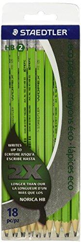 Staedtler Pencil, WOPEX HB 18 Pack 100% PEFC (182 41CB18 NA)