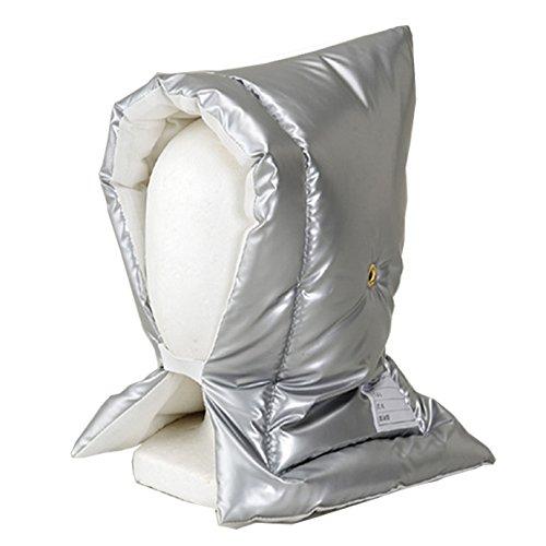 アルミ加工 防災頭巾Lサイズ(大きめ)約30×46cm 【対象の目安=小学校高学年以上】 日本製 日本防炎協会認定
