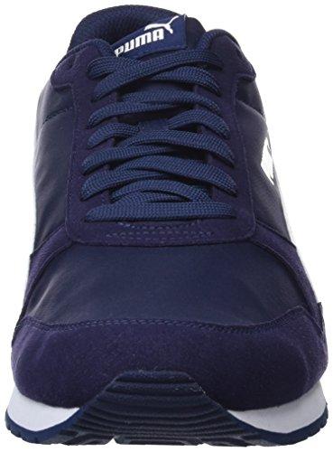 PUMA ST Runner v2 NL, Zapatillas Unisex Adulto, Azul (Peacoat White), 37.5 EU