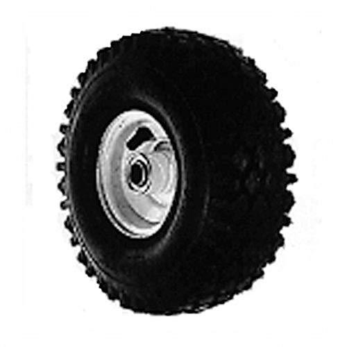Oregon 72-728 Wheel Assembly, 410/350-4-Snapper