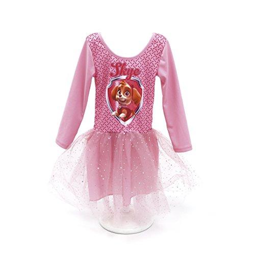 ARDITEX - PW9893 - Déguisement Robe De Ballet avec Manche - Licence La Pat 'Patrouille Girl de 2 à 6 Ans -