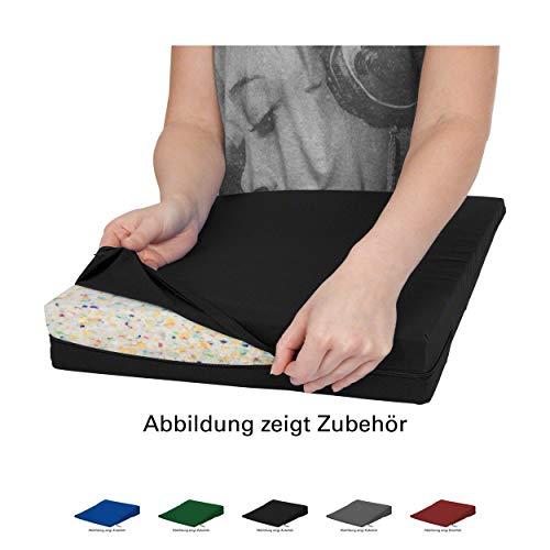 Sport-Tec Bezug aus Baumwolle für Sitzkissen Orthopädisch Sitzkeil Keilkissen, 38x38 cm