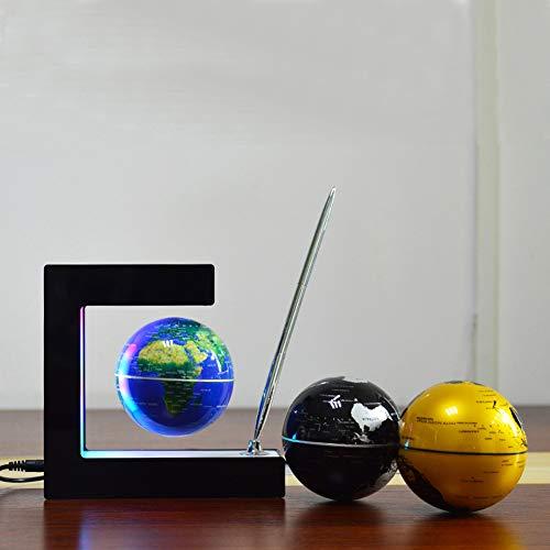 LICHUXIN flottant Globe LED enseignement lumière suspension...