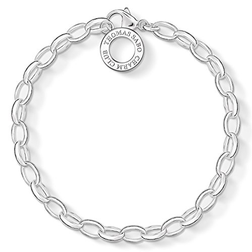 Thomas Sabo Damen Charm-Armband Classic 925 Sterling Silber X0031-001-12