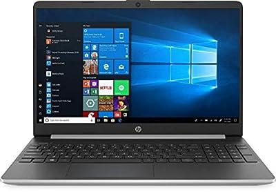 "2020 HP 15.6"" Touchscreen Laptop Computer/ 10th Gen Intel Quard-Core i5 up to 3.6GHz/ 8GB DDR4 RAM/ 512GB SSD/ 802.11ac WiFi/ Bluetooth 4.2/ USB 3.1 Type-C/ HDMI/ Silver/ Win 10 (Renewed)"