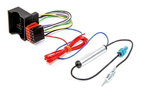Câble adaptateur autoradio connecteur faisceau ISO pour ISO ALHAMBRA/TOLEDO