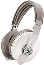 Sennheiser Momentum 3 Wireless - Active Noise Cancelling Headphones with Alexa, Auto On/Off, Smart Pause Functionality and Smart Control App - White