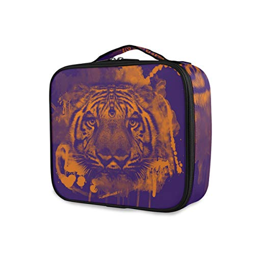 Montoj Trippy Tiger - Bolsa organizadora de maquillaje