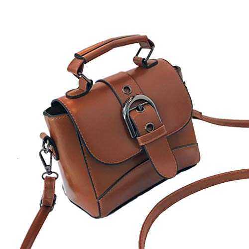 Top Design Fashion Woman Sac À Main Souple Sacs À Bandoulière Crossbody Bag Wallet (Couleur : Light Brown)