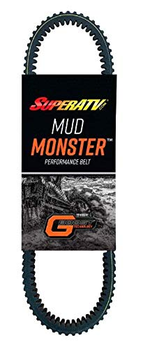 SuperATV Mud Monster CVT Drive Belt for 2017+ Can Am X3 (all models)   Mud-Specific Belt built for thousands of miles of abuse   High Strength with Smooth Engagement!