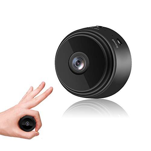 2021年最新小型カメラ 120°広角 防犯カメラ 遠隔監視 ペットカメラ 1080p画像 動体検知 超小型カメラ 赤外線 WiFi スマホ対応 屋外 屋内用 操作便利 日本語説明書付き