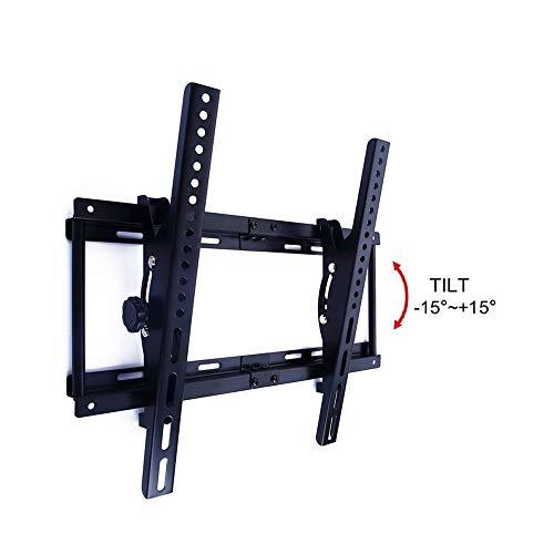 ZPWSNH TV Stand, Klein formaat Verstelbare Hoek LCD Display Rack, Wandmontage Combinatie TV Scherm Rack TV stand