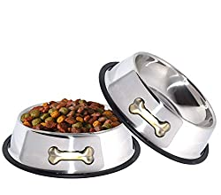 stainless steel dog bowls made in the usa